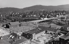 Ed Roseberry's photo here shows the bridge back in the early 1960s.