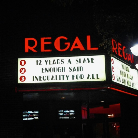 Regal marqee