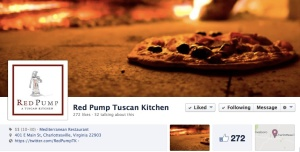 Red Pump Tuscan Kitchen Facebook page.