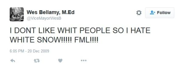 Bellamy tweet